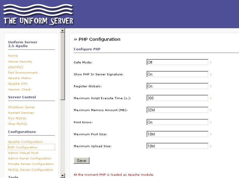 uniform_server_admin